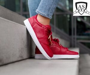 9929e26d8eca Nike Air Jordan 1 Retro Low NS AH7232 623 No Swoosh Gym Red Women ...