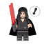 miniature 24 - STAR WARS Minifigures custom tipo Lego skywalker darth vader han solo obi yoda