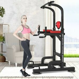 Power-Rack-Exercise-Stand-Pull-Up-Bar-Fitness-Weightlifting-Home-Gym-Squat-Power