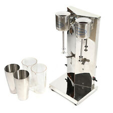 Commercial Electric Milk Shake Machine Milkshake Mixer Drink Mix Blender With Cups