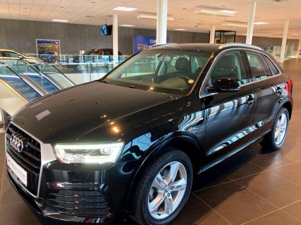 Audi Q3 2,0 TDi 184 Sport quattro S-tr. billede 0