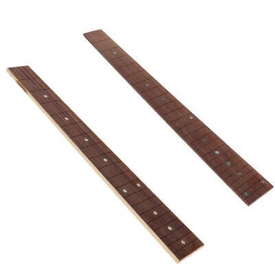 Fretboard Griffbrett Neck 20-Fret Palisander Luthier Werkzeug für Ukulele
