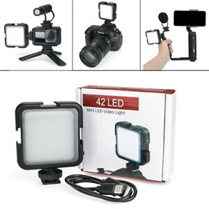 Photographic-Video-Light-LED-Fill-Lamp-for-Phone-Gopro-DJI-OSMO-DSLR-SLR-Camera