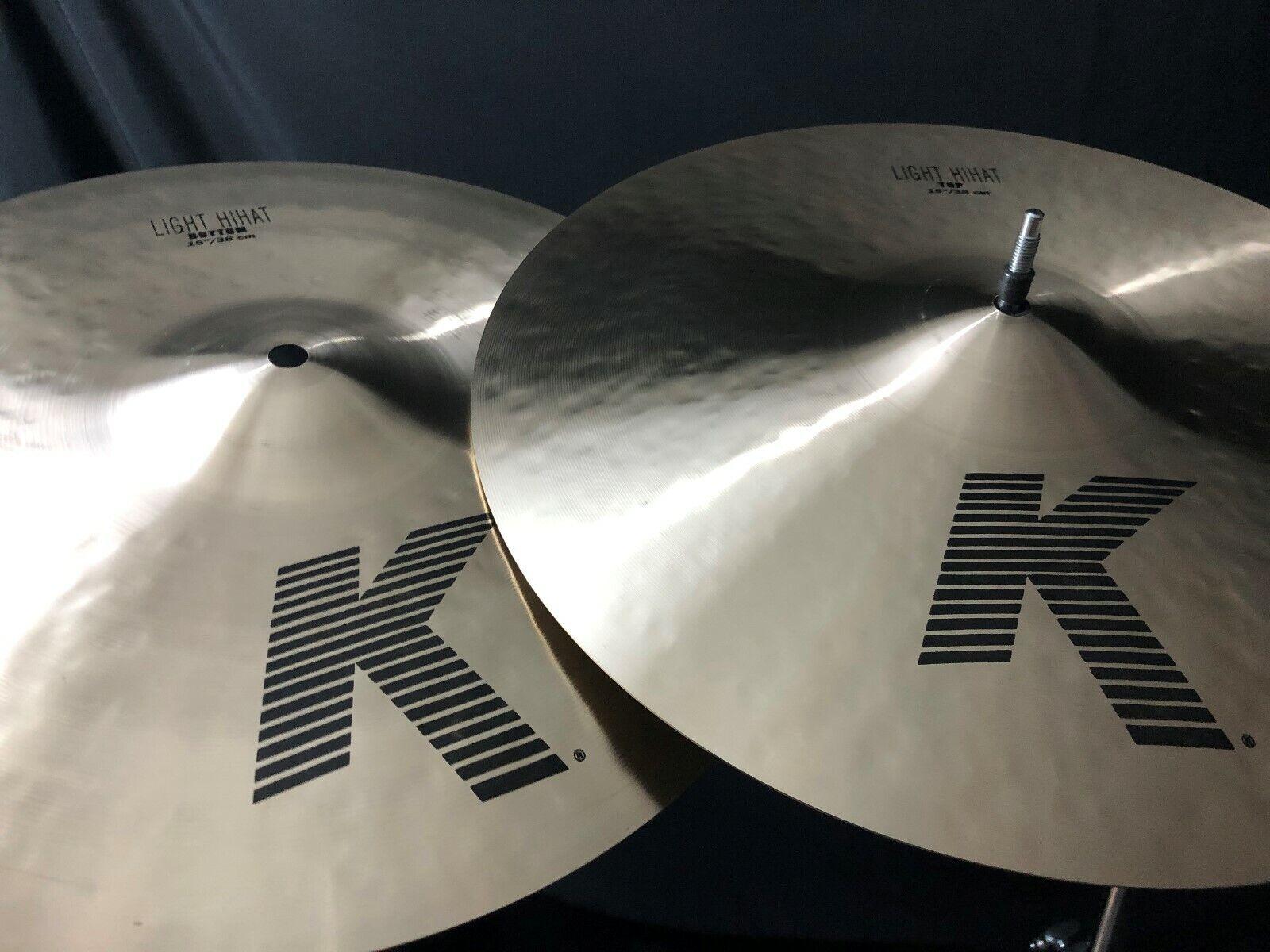 """Zildjian 15"""" K Series Light HiHats"""