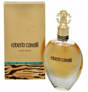 ROBERTO-CAVALLI-Perfume-2-5-oz-edp-Spray-New-in-Box