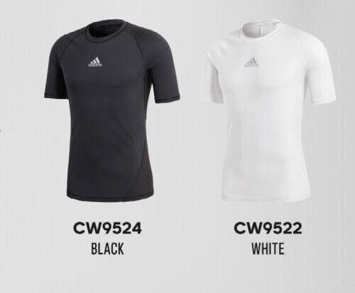 Adidas Alphaskin Techfit short Sleeve Shirt