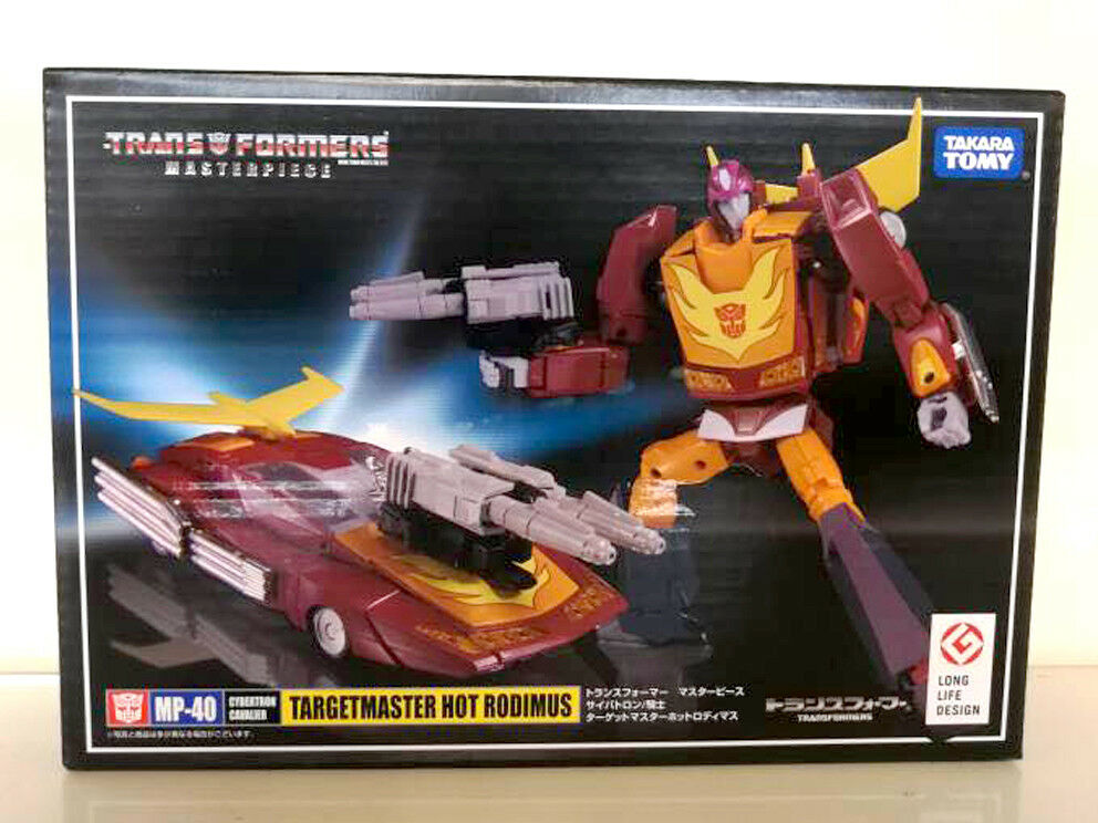 Transformers Takara Masterpiece MP-40 Targetmaster Hot Rodimus Brand New