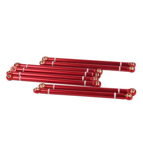 8 pcs Metall Servo Lenkgestänge Spurstange für Axiale Scx10 1:10 RC Car