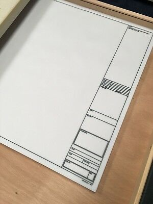 Natural Tracing Paper Sheets A1 594mm x 841mm Gateway 112gsm 250 Sheets