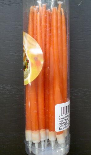 ❀ 18 Tortenkerzen Geburtstagskerzen  Torte Rot Gelb Rosa Blau Weiß Orange #277A