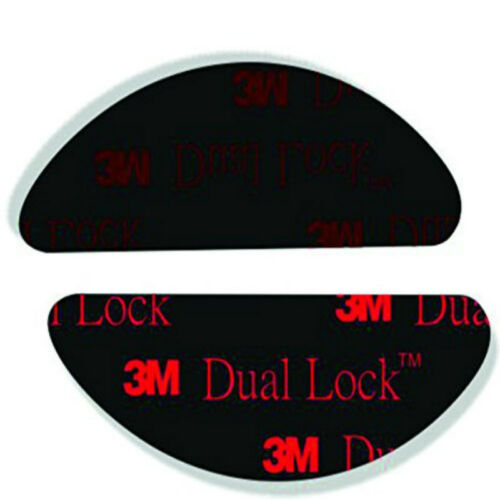 SJ3550 NERO 2 pezzi 3M DUAL LOCK BI ADESIVO adesivi per telepass ORIGINALi
