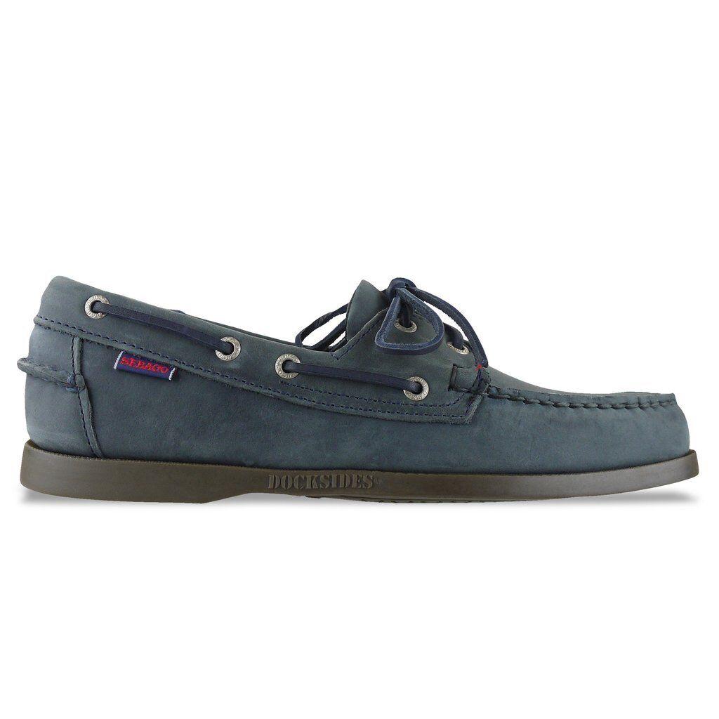 NEW SEBAGO Schuhe BROWN/BLACK/SAND/WINE - SEBAGO DOCKSIDE BOAT SHOE - BROWN/BLACK/SAND/WINE Schuhe - BNIB 20118e