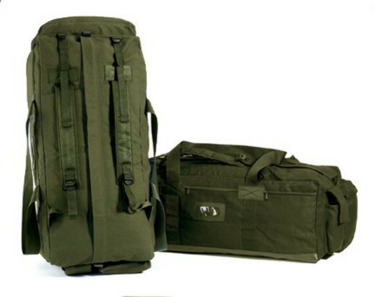 Tactical Canvas Bag - Heavy Duty - Olive Drab - Army & Military