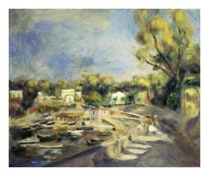 Scenery-in-Cagnes-Paysage-a-Cagnes-Paper-Art-24-034-x20-034
