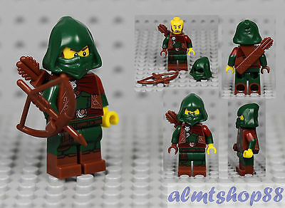 LEGO Series 16 Rogue Archer 71013 Minifigure Green Robin Hood Collectible CMF