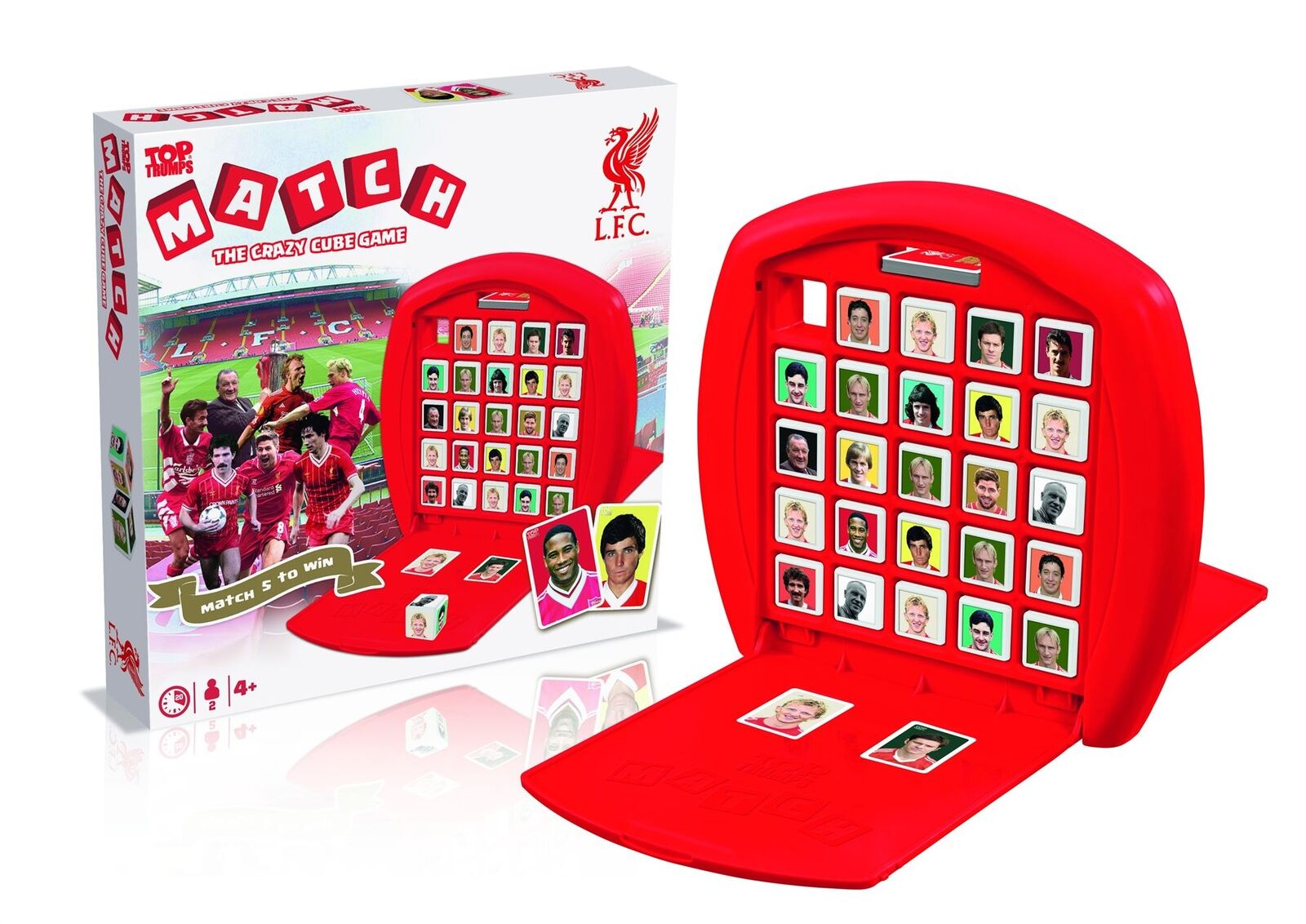 Liverpool FC Top Trumps Match Game LFC Official