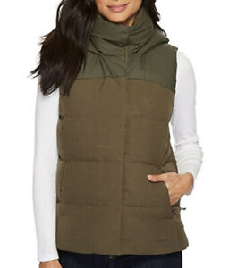 NWT-The-North-Face-WOMEN-039-S-NOVELTY-NUPTSE-VEST-Color-Taupe-Green-Size-S