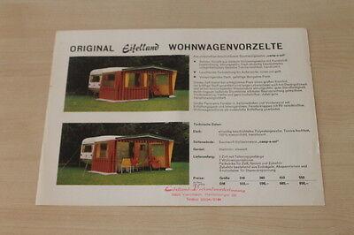 GüNstiger Verkauf 177971 Eifelland Wohnwagen Vorzelt Prospekt 198 Auf Dem Internationalen Markt Hohes Ansehen GenießEn