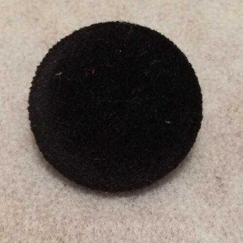 Black Velvet Buttons 10mm 16mm 18mm 20mm 23mm 25mm 31mm 37mm Small /& Large