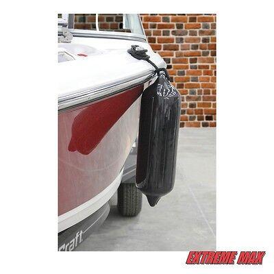 "6.5 x 22/"" Extreme Max 3006.7384 BoatTector Fender Value 4-Pack Black"