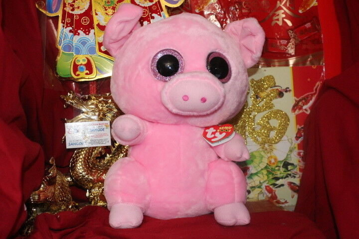 TY BEANIE BOOS POSEY THE PIG.JUMBO.17 .CLAIRE'S EXCLUSIVE.2018.MWNMT.NICE GIFT