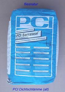 PCI-Barraseal-25-kg-Dichtungsschlaemme-Mineralisch-Keller-Trink-Abwasserbereich