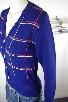 Cardigan Donna Altlagerbestand True Vintage 36/38 Blu 80er Nos Cardigan 80s-d True Vintage 36 /38 Blau 80er Nos 80s Cardigan It-it Mostra Il Titolo Originale Superiore (In) Qualità