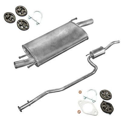 Auspuff Endschalldämpfer Endtopf Ford Fiesta 1.25i-16V 1.3i Bj.08//95-10//02 55kW