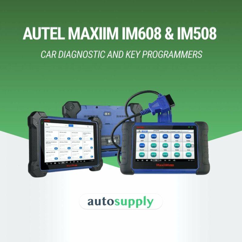 Supplier of Autel MaxiIM IM608 & IM508 Car Diagnostic and Key Programmers   AutoSupply.co.za