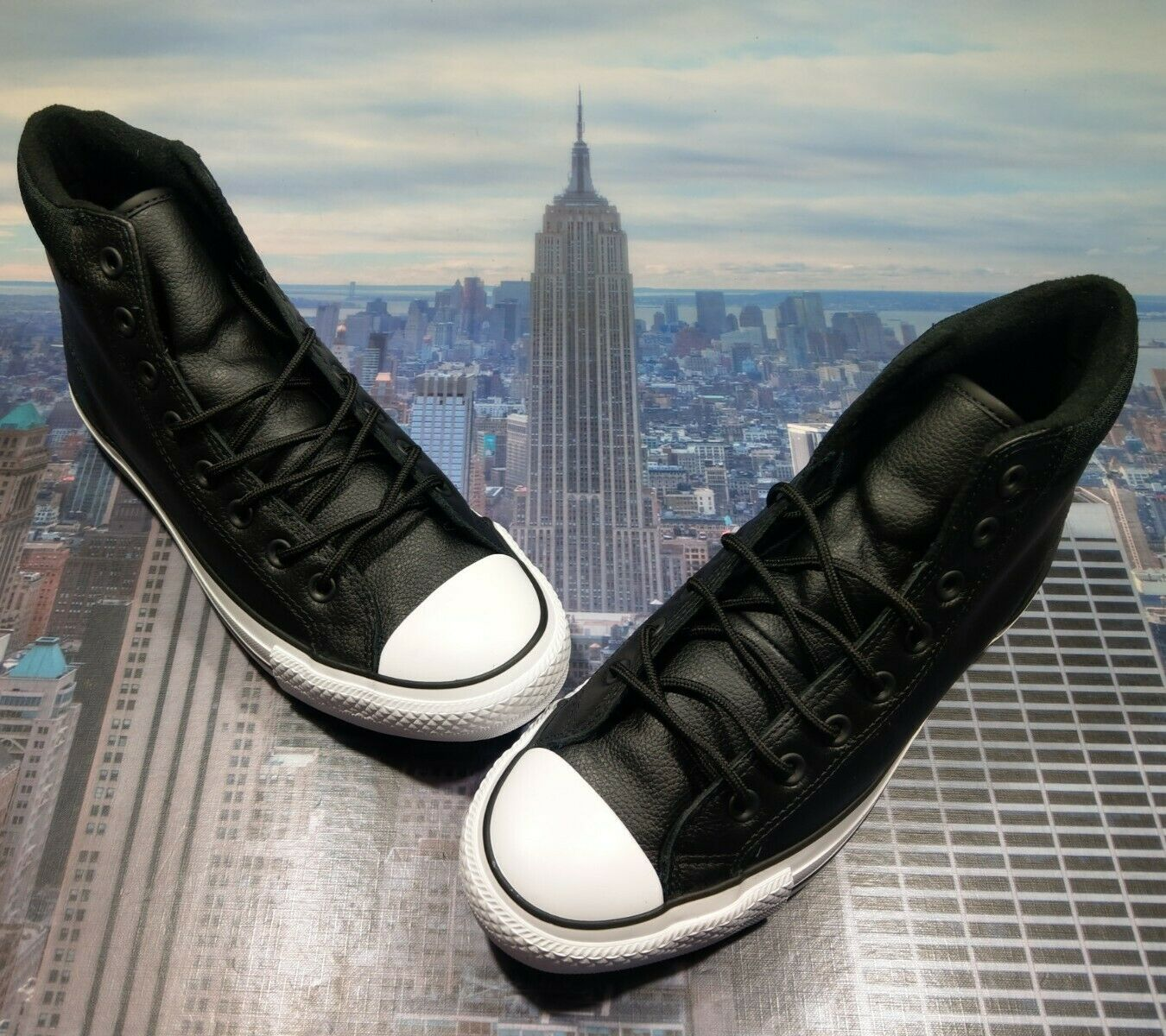 Converse Chuck Taylor All Star PC Boot High Top Black/white Size ...