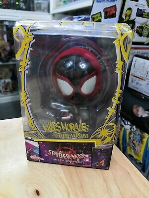 636 Spiderman Miles Morales Hooded Version Brand New!! Hot Toys Cosbaby s