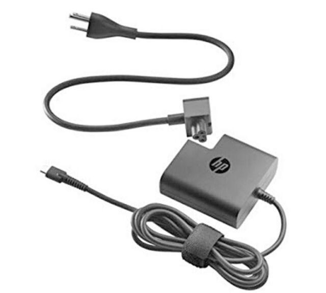 Genuine HP 65W USB-C Power Adapter/N 925740-002  TPN-CA06 spectre X2 X360-NEW!!