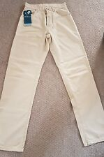 New Voi Beige Mens Jeans Size 30 Large