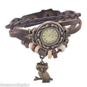 FL-Fashion-Quartz-Dark-Coffee-Woven-Leather-Owl-Bead-Bracelet-Watch-For-Women
