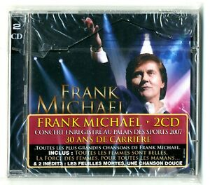 DOUBLE-CD-FRANK-MICHAEL-PALAIS-DES-SPORTS-LIVE-2007-21-TITRES-3-INEDITS