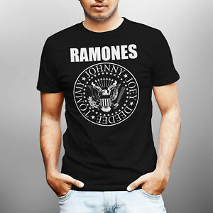 Ramones-Presidental-Seal-Band-Men-T-shirt-Size-S-5XL