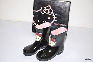 2c186ddbbc0fe Bottes   Bottines Pluie Enfant Fille - HELLO KITTY by Victoria T 28 ...