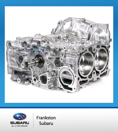 NEW GENUINE SUBARU STi MY08 TO MY14 SHORT BLOCK ENGINE 10103AC890