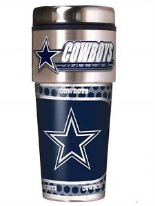 985795431c A imagem está carregando Nfl-Dallas-Cowboys-Aco-Viagem-Tumbler-Caneca-Com-