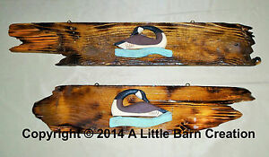 Ducks-Sign-Wall-art-Rustic-western-hand-crafted-reclaimed-wood-nature