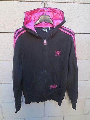 Veste à capuche ADIDAS CHILE 62 Trefoil noir