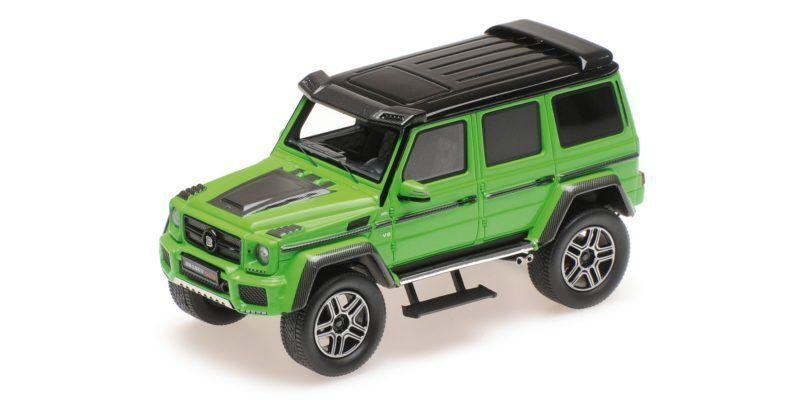 Brabus 4x4 Auf Basis Mercedes Benz G500 verde 2016 1:43 Model MINICHAMPS
