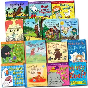 Julia-Donaldson-Collection-15-Children-Picture-Flats-Books-Set-Pack-Inc-Gruffalo