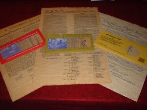 Declaration-US-Constitution-Bill-of-Rights-3-Individual-Freedom-Document-Set
