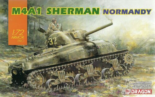 DN7568 Normandy M4A1 Sherman 20mm Dragon 1//72