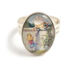 Alice-in-Wonderland-ring-HUMPTY-DUMPTY-fairytale-silver-adjustable-fairy-tale