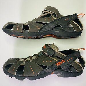 8d16f832fa56 Teva Dozer 6704 Brown Hiking Trail Closed Toe Sport Sandals Men s ...
