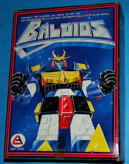 Baldios - Vintage Anni 80 in Box - Robot