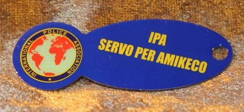 "IPA International Police Association EK-Chip-Ersatz /""Mein Johann/"" NEU unbenutzt"