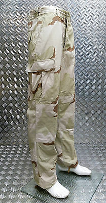 2019 Mode Genuine Us Ripstop 6 Pocket Combat / Field Trousers Desert Camo - All Sizes